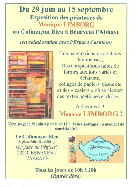2013 Monique LIMBORG Affiche