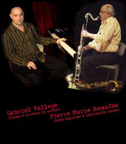 Gabriel Vallejo et Pierre Marie Bonafos