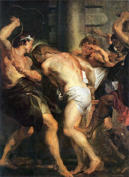 Flagellation-of-christ- Rubens