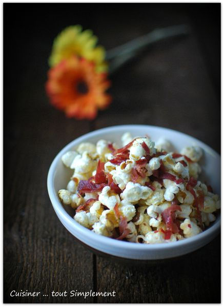 popcorn bacon sirop d'érable