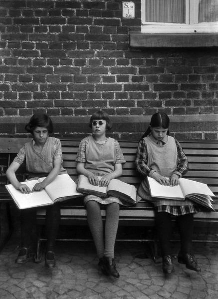 67ef Blinde Kinder August Sander