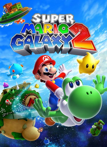 SuperMarioGalaxy2 jaquete Wii