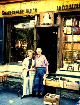 -With George Whitman at Shakespeare Co