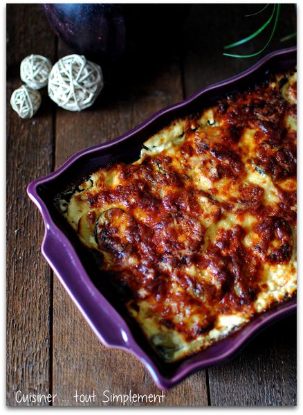 gratin dauphinois pdt et courgettes