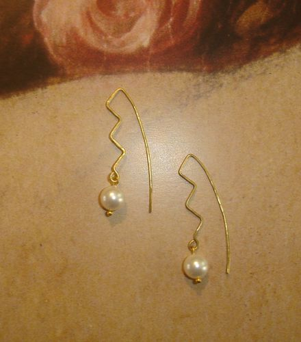 Boucles d'oreilles originales cristal nacre blanch-copie-1