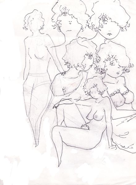 page croquis