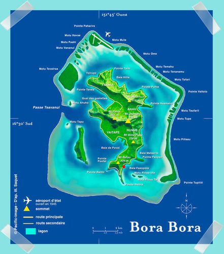 Borabora Carte | My blog