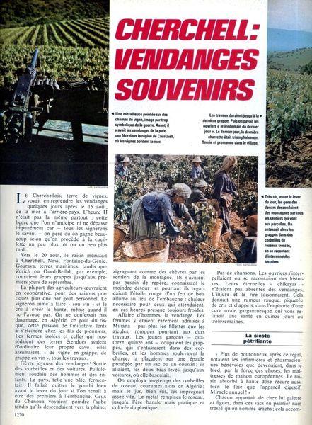 Viticulture En Algerie Caves Cooperatives De Vinification D Ici Et