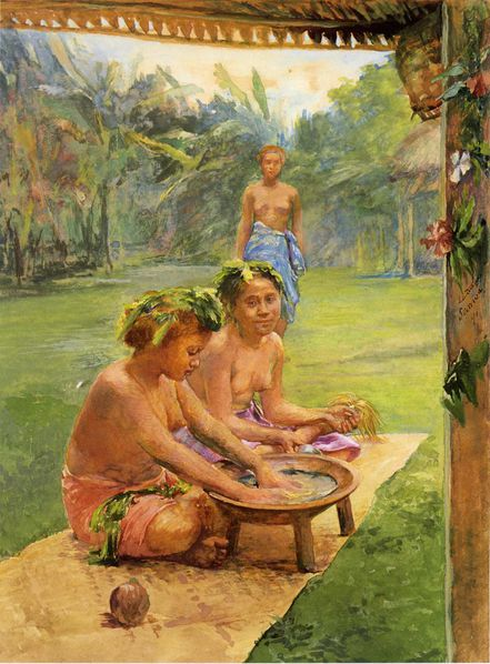 John_LaFarge_-_Young_Girls_Preparing_Kava_Outside_of_the_Hu.jpg
