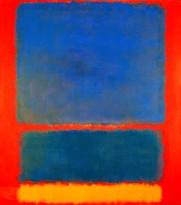 Azul y Rojo by Mark Rothko