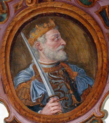 432k4 Rome, Trinità dei Monti, Hugues Capet