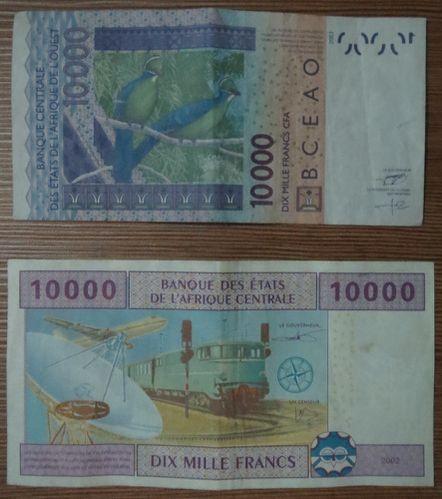 CFA billets v