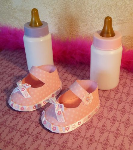 petits chaussons stampin up