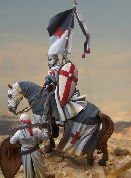 chevaliers et figurines a