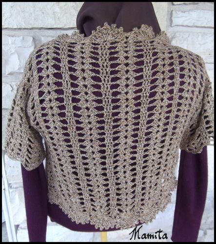 gilet crochet 4