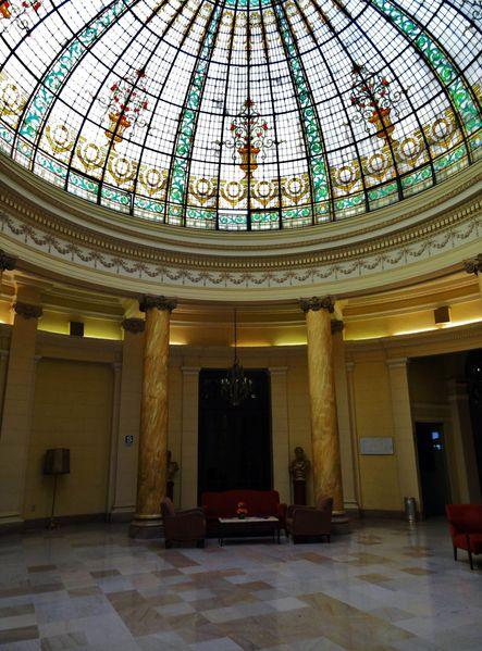 Lima Grand Hôtel Bolivar hall entrée