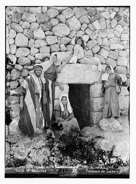 Tomb of Lazarus, between 1898 and 1914