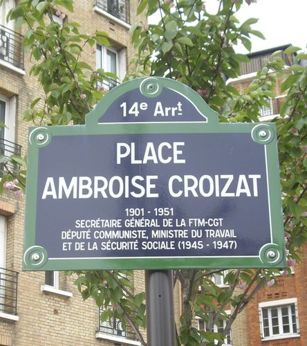 Place Ambroise-Croizat, Paris 14
