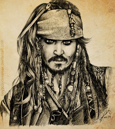 jack sparrow sketch by heyydaydreamer-d510zkv