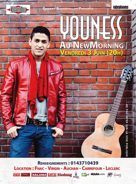 Youness El Guezouli au New Morning le 3 juin 2011