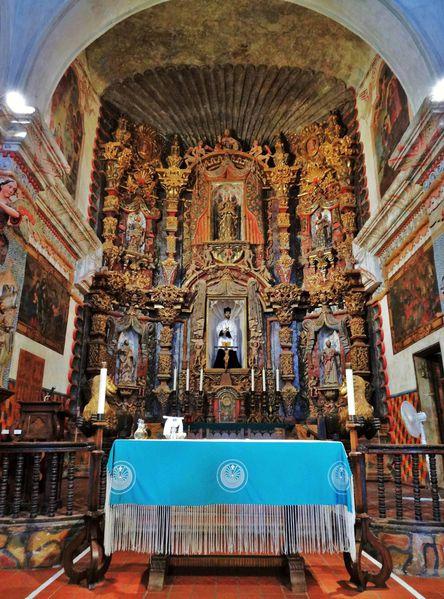 Tucson Eglise St Xavier del Bac autel (2)
