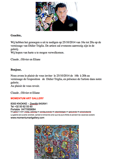 INVITATION VERNISSAGE TRIGLIA A KNOKKE LE ZOUTE-copie-1