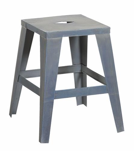 tabouret en zinc le blog de deco design pas. Black Bedroom Furniture Sets. Home Design Ideas