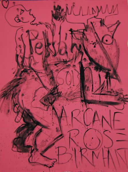 Arcane Rose Birman pessa'h11 218X166CM