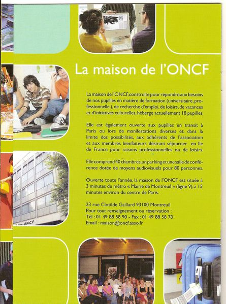 maison oncf 2011