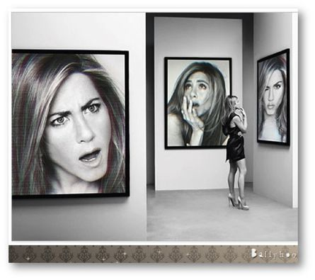 fashion ballyhoo - Jennifer Aniston la belle quarantaine