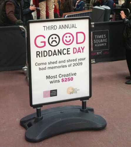 good riddance day NY 09 4