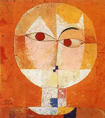 Paul Klee Head of a Man tete homme