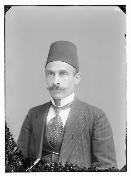 Turkish mayor of Jerusalem, 1917
