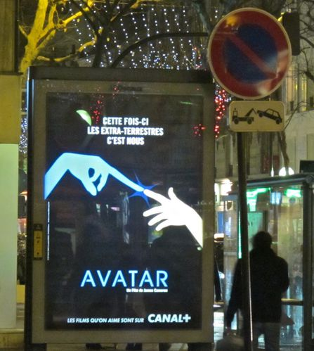 affiche canal + Avatar