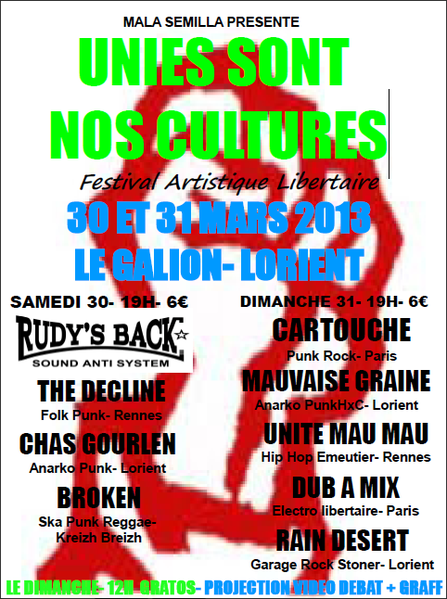 unies sont nos cultures