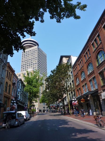 Jour 28 Vancouver Gastown Lookout Tower