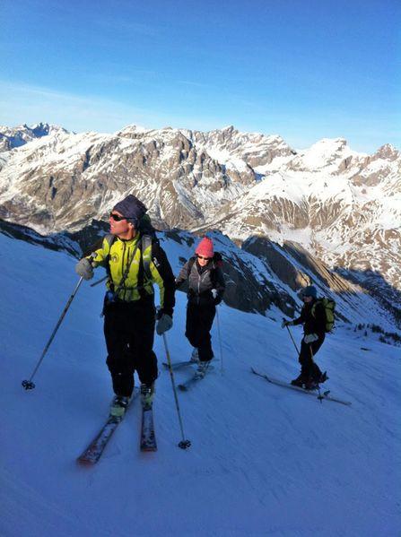 raid ski piémont 89