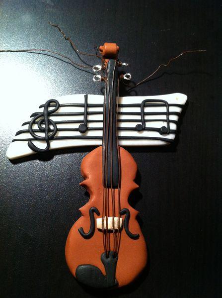 Tuto fimo violon
