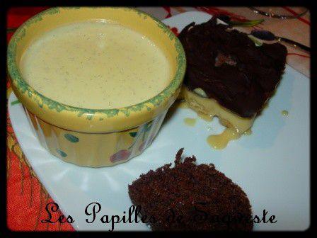 Recette de pana cotta vanille et mascarpone les papilles de sagweste - Recette panna cotta mascarpone ...