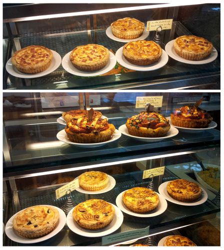 bakeshop quiches