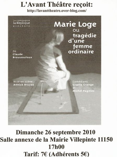 affiches marie loge sept
