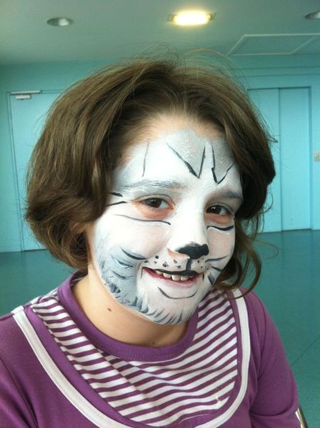 maquillage enfant chat