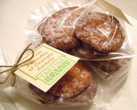 Biscuits aux Amandes et à l'Orange Amère 3