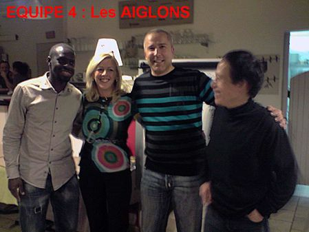 Equipe 4 Les AIGLONS x