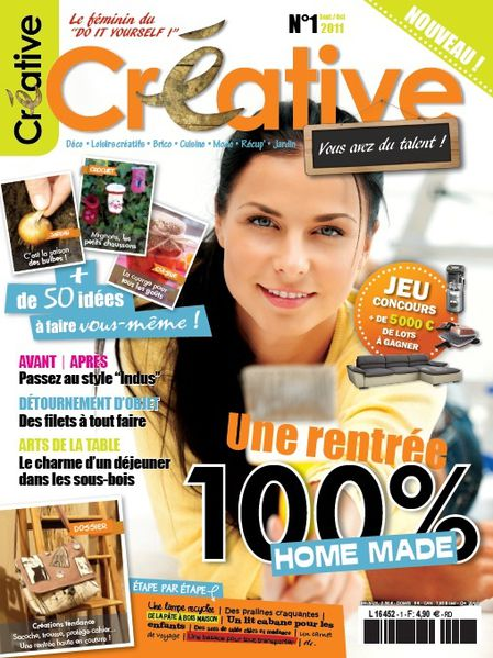 couverture creative