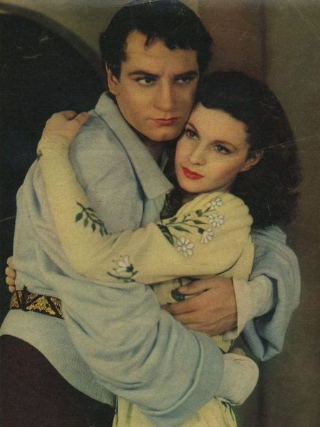 laurence olivier and vivien leigh in romeo and juliet