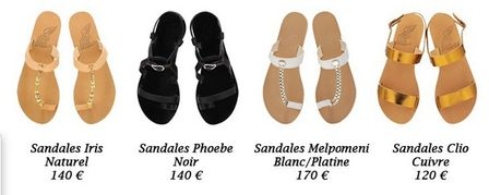 ancien greek sandals many more