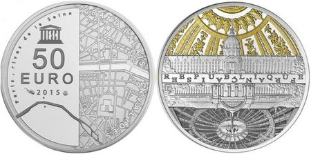 france 2015 unesco grand palais invalides 5 oz