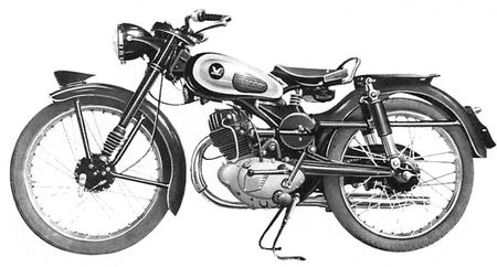 1954 Honda Benly 2297