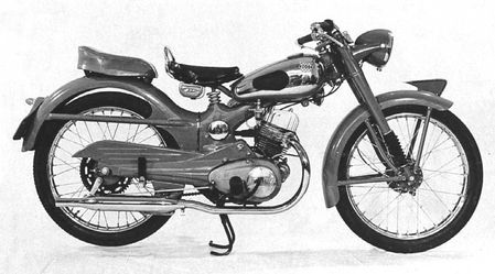1953 Honda 125 Benly766